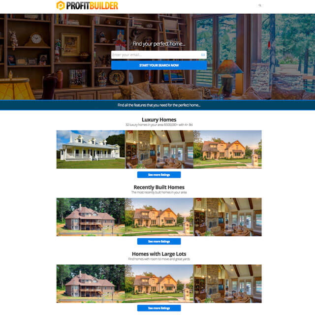 Real-Estate-Showcase-Homepage