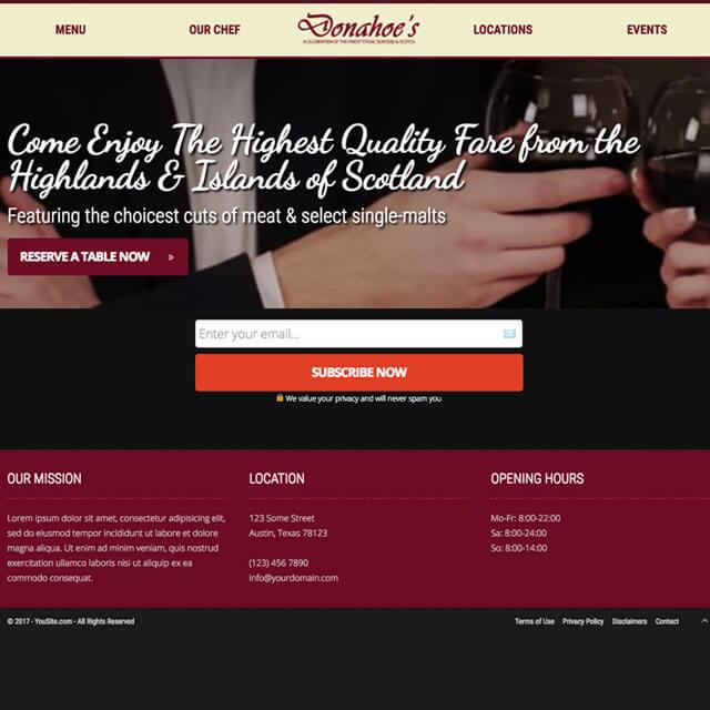 Restaurant-Landing-Homepage